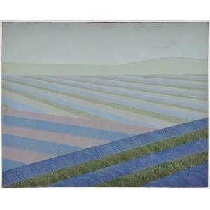 Aldir Mendes de Souza<br />Paisagem Rural nº32, 1970 – 1980, óleo sobre tela, assinada, titulada e datada, 1978 no verso, com pequeno restauro no canto superior direito. <br />100 x 80 cm.
