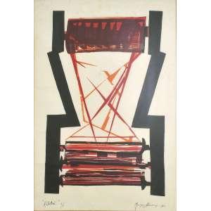 Maria Bonomi<br />Rotativa, Serigrafia Ed.1/1, assinada e datada, 1965, inferior direito, titulada e numerada inferior esquerdo.<br />68 x 49 cm.