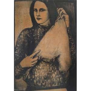 João Câmara <br />Imitação de Clara, gravura assinada, titulada e numerada H.C. <br />84 x 61 cm.