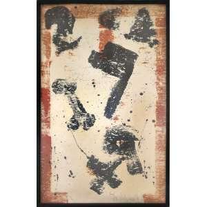 Antonio Dias <br />Serigrafia, Assinado inferior direito e numerado 18/90, inferior esquerdo.<br />90 x 60 cm.