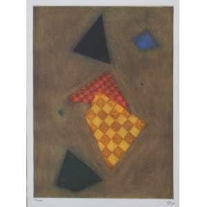 Arthur Luiz Piza<br />Gravura em metal, assinada inferior direito e numerada 93/100 inferior esquerdo.<br />42 x 32 cm.
