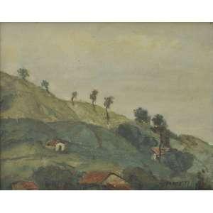José Pancetti<br />Óleo sobre tela, assinado inferior direito.<br />33 x 41 cm.