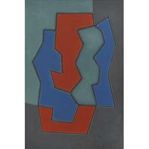 Dionísio Del santo<br />Sem título, década 90, óleo sobre tela, 60 x 40 cm.
