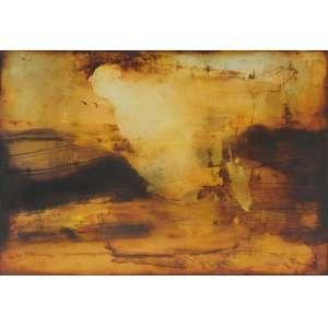 Carlos Araujo<br />Óleo sobre madeira, assinado inferior esquerdo, 110 x 160 cm.