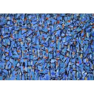 Cosme Martins<br />Acrílica sobre tela, assinado inferior esquerdo. 91 x 130 cm