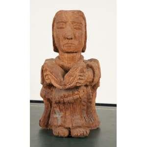 Jadir - São João - madeira policromada - 35 x 16 x 19cm - s.d. (Divinópolis, MG, Brasil, 1933)