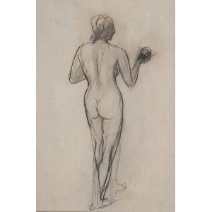 Ernesto de Fiori - Nú Feminino - 48 x 33cm - Grafite sobre papel