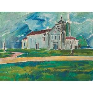 Carneiro da Cunha - Igreja - acrílico.s.t. - 60 x 80cm - 1985