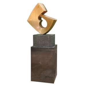 Bruno Giorgi - Sem Título - 80 x 74 x 50cm - escultura em bronze