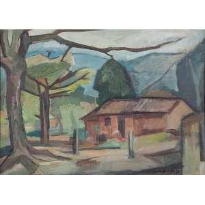 Bonadei, Aldo - Casario - o.s.t. - 55,5 x 77,5cm - acid - 1963