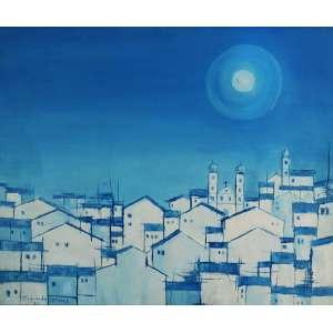 Raimundo Colares – Casarios. OST, 46x55 cm, 1964, ACIE