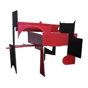 Mario Cravo Junior – Construção. Ferro pintado, 78x123x78 cm, déc 70.
