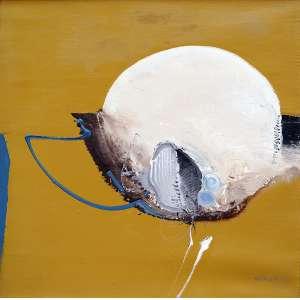 Mabe, Manabu - Sem título. OST, 51x51 cm, 1977, ACID.