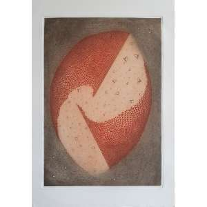 Arthur Luiz Piza - Sem título. Gravura em metal - B.T., 91x63 cm, sem data, ACID. Sem moldura.<br />