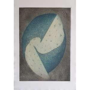 Arthur Luiz Piza - Sem título. Gravura em metal - 29/33, 91x63 cm, sem data, ACID. Sem moldura.<br />