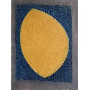 Arthur Luiz Piza - La grande jaune (Edition L'Œuvre Gravée). Gravura em metal - 25/99, 73,8x54,7 cm, 1969, ACID. Sem moldura.<br />