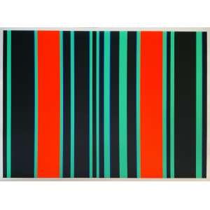 Gunter Fruhtrunk - Sem título. Serigrafia - 41/125, 68x93 cm, sem data, AV. Sem moldura.<br />