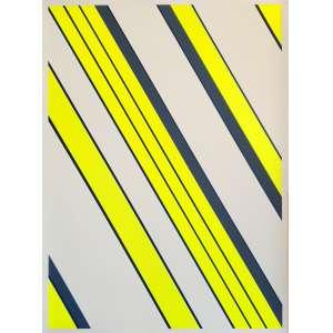 Gunter Fruhtrunk - Sem título. Serigrafia - 41/125, 93x68 cm, sem data, AV. Sem moldura.<br />