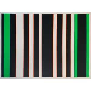 Gunter Fruhtrunk - Sem título. Serigrafia, 68x93 cm, sem data, AV. Sem moldura.<br />