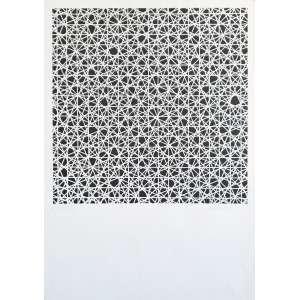François Morellet - Sem título. Serigrafia - 17/150, 68x48 cm, sem data, ACID. Sem moldura.<br />