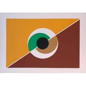 Carmelo Cappello - Sem título. Serigrafia - 20/99, 50x71 cm, 1975, ACID. Sem moldura.<br />