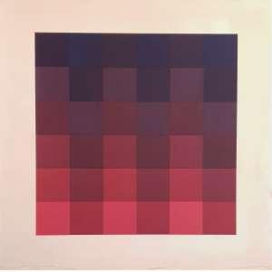 Hugo Demarco - Sem título. Serigrafia - 118/120, 68x68 cm, sem data, ACID. Sem moldura.<br />