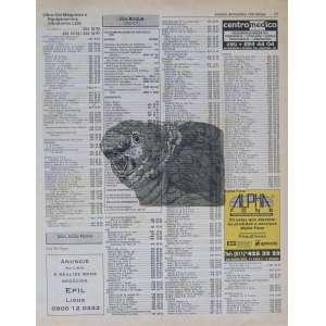 Heidi Diniz - Papagaio - Gravura em metal sobre página de lista 8/37 - 27x20cm - Assinada no verso