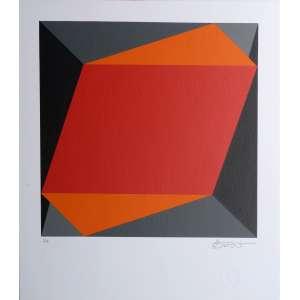 Fernando Durão - Concreto - Serigrafia P.I. - 35x30cm - ACID