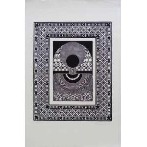 Pedro Seman - Nega Fulô - Gravura em metal 23/100 - 78x53cm - 1973 - ACID