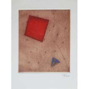 Arthur L. Piza - Sem Título - Gravura em metal- 24x18cm com moldura - 2002 - Galerie Michel - ACID