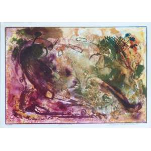 Paulo Calazans - Queimada - Litografia 5/100 - 25x35cm - 1989 - ACID