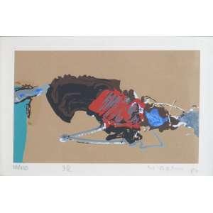 Mabe - Abstrato - Serigrafia 66/420 - 16x23cm - 1984 - ACID