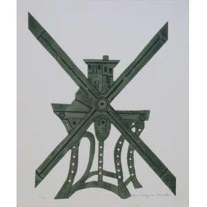 Vera Bocaiuva Mindlin - Objeto - Gravura em metal 85/100 - 40x33cm - ACID