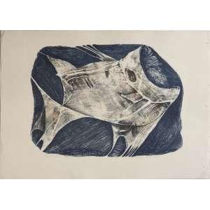 Ivone Couto - Peixe - Litografia 3/18 - 40x54cm - 1980 - ACID