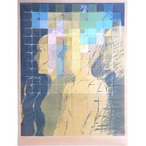 Balthazar - Mi Gente - Litografia P.A. - 54x40cm - 1980 - ACID