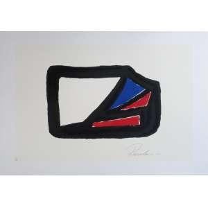 Rosolen - Composição - Serigrafia P.A. - 50x70cm - 2015 - ACID