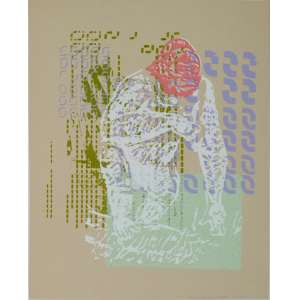 Maurício Rossi - Gorila - Serigrafia 4/4 - 48x38cm - 2010 - ACID