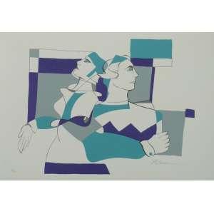 Rosalia Lerner - Duo - Serigrafia P.A. - 50x35cm - ACID
