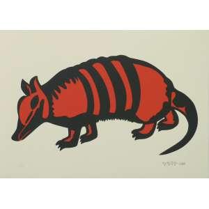 Gejo - O Tatu - Serigrafia 15/25 - 35x50cm - 2010 - ACID