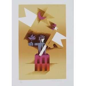 Braz Dias - Caixa Mágica - Litografia 37/100 - 35x25cm - ACID