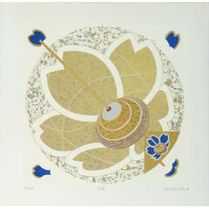 Wakabayashi - Pião - Serigrafia 14/100 - 50x50cm - 2008 - ACID