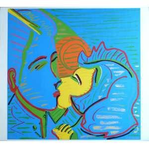 Rubens Gerchman - Beijo - Serigrafia 35/100 - 70x80cm - ACID