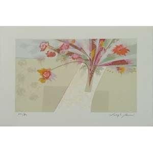 Valmir - Flores - Serigrafia 64/80 - 35x50cm - ACID