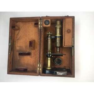Microscopio NACHET - FRANCE - 1880