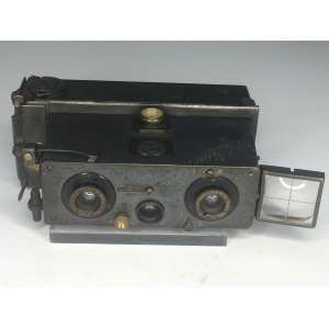 VENASCOPE 5A RICHARO ( PARIS - FRANCE) - 1911 - 3 Lentes KRAUSS ZEISS - 45x107 mm