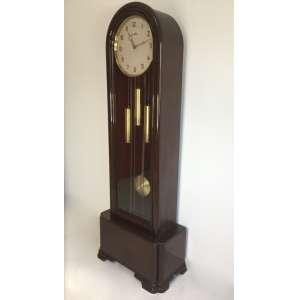 Grandioso Relógio Pedestal Carrilhão Musical Frances Vedette com duas músicas - Ave Maria e Westminster - 1,86 cm altura x 25,5 cm largura x 22,5 cm profundidade