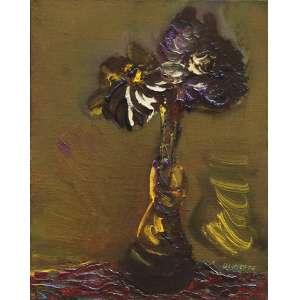 """Danilo di Prete - óleo sobre tela - 30 x 23 cm - """"Vaso de Flores"""" - ass. inferior direito"""