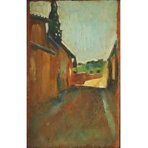 """Bonadei, Aldo - óleo sobre madeira - 14 x 8,5 cm - """"Arreadores de Florença"""" - Com certificado - de Soraia Cals - Escritório de Arte"""