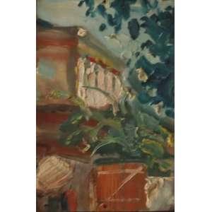 """Bonadei, Aldo - óleo sobre papel telado - 18 x 13,4 cm - """"Paisagem"""" - Com certificado - de Soraia Cals - Escritório de Arte"""