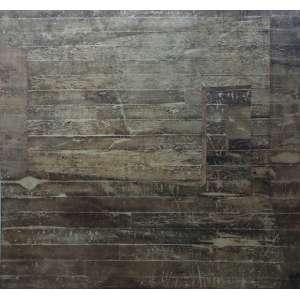 """Daniel Senise - acrílica sobre tela colada em madeira - 150 x 150 cm - """"Sem Título"""" - ass. verso - 2000 - Cód. DS620/00"""